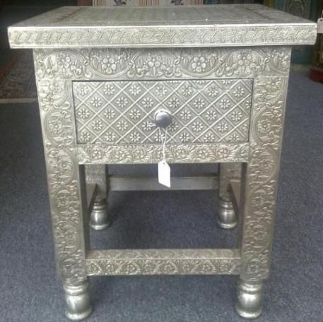 White Metal Chest Of Drawer,white Metal Furniture India