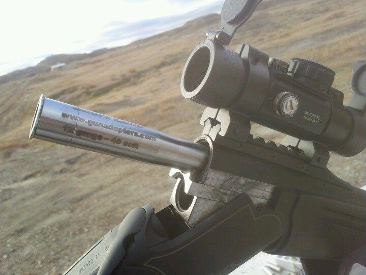 Short Lane 12 gauge to 45 colt Pathfinder adapter Conversion