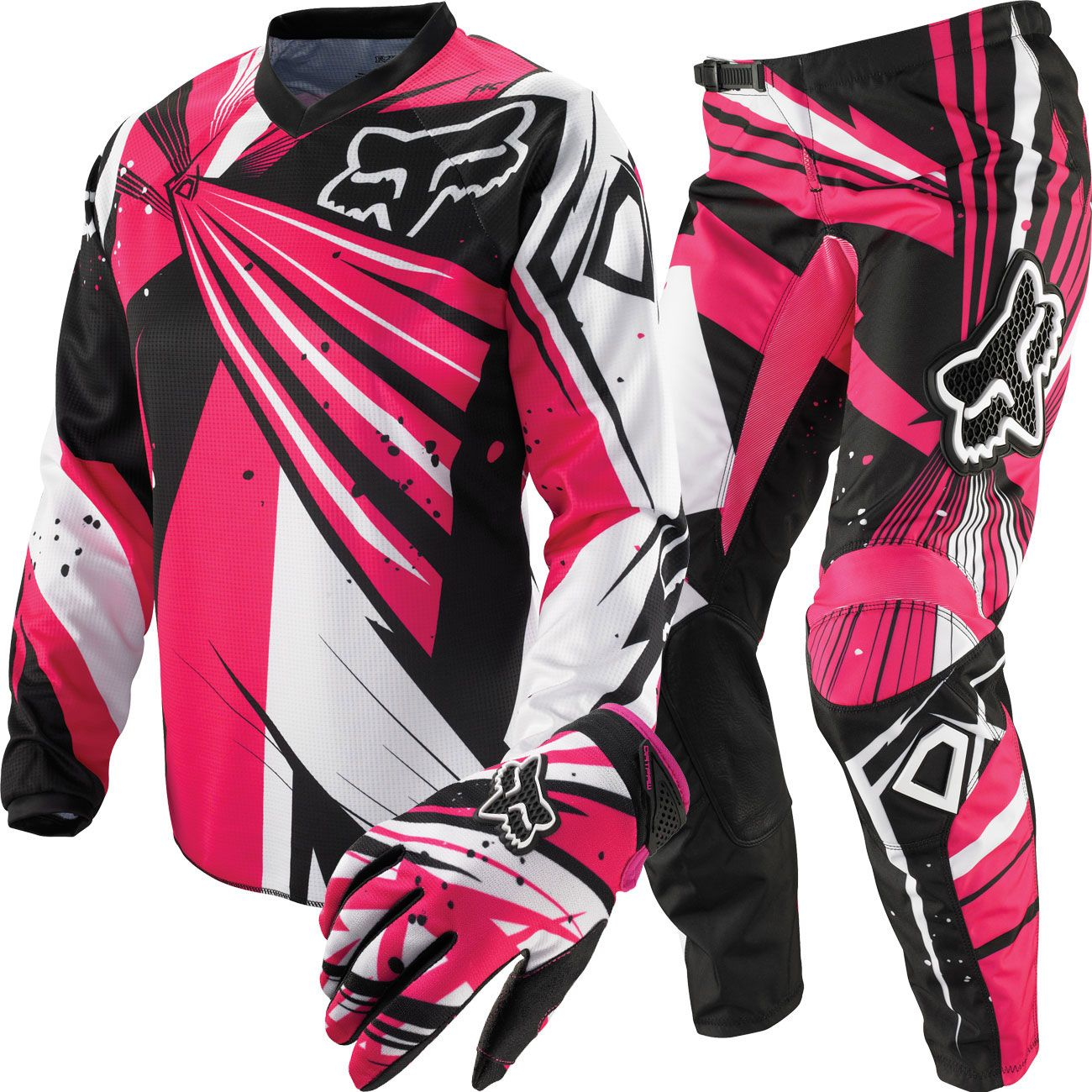 Pink Fox Riding Gear This Is A Must Have For That Pink Rzr Dirt Bike Gear Pink Dirt Bike Bike Gear