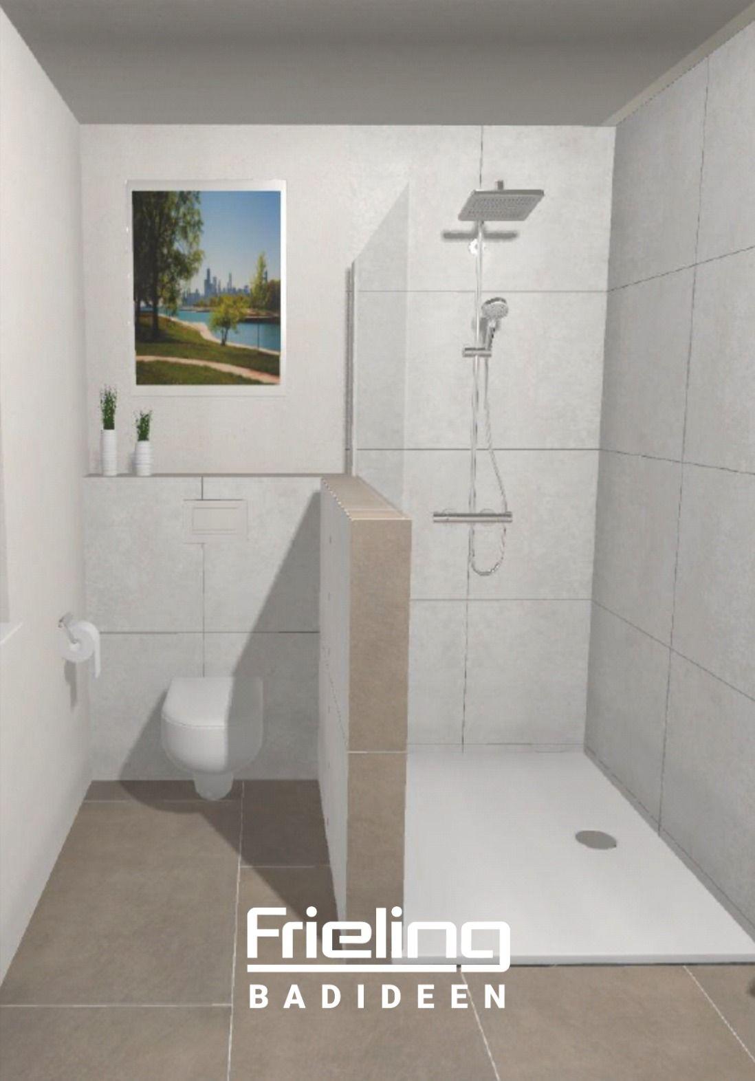 Nischen Nutzen Wand Als Sichtschutz Ziehen Glasabtrennung Familienbad In 2020 Walk In Dusche Badezimmerarmatur Badezimmereinrichtung