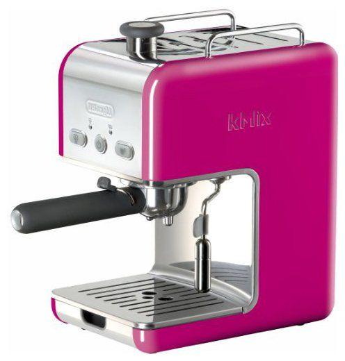 Kmix 15 Bars Pump Espresso Maker, Magenta