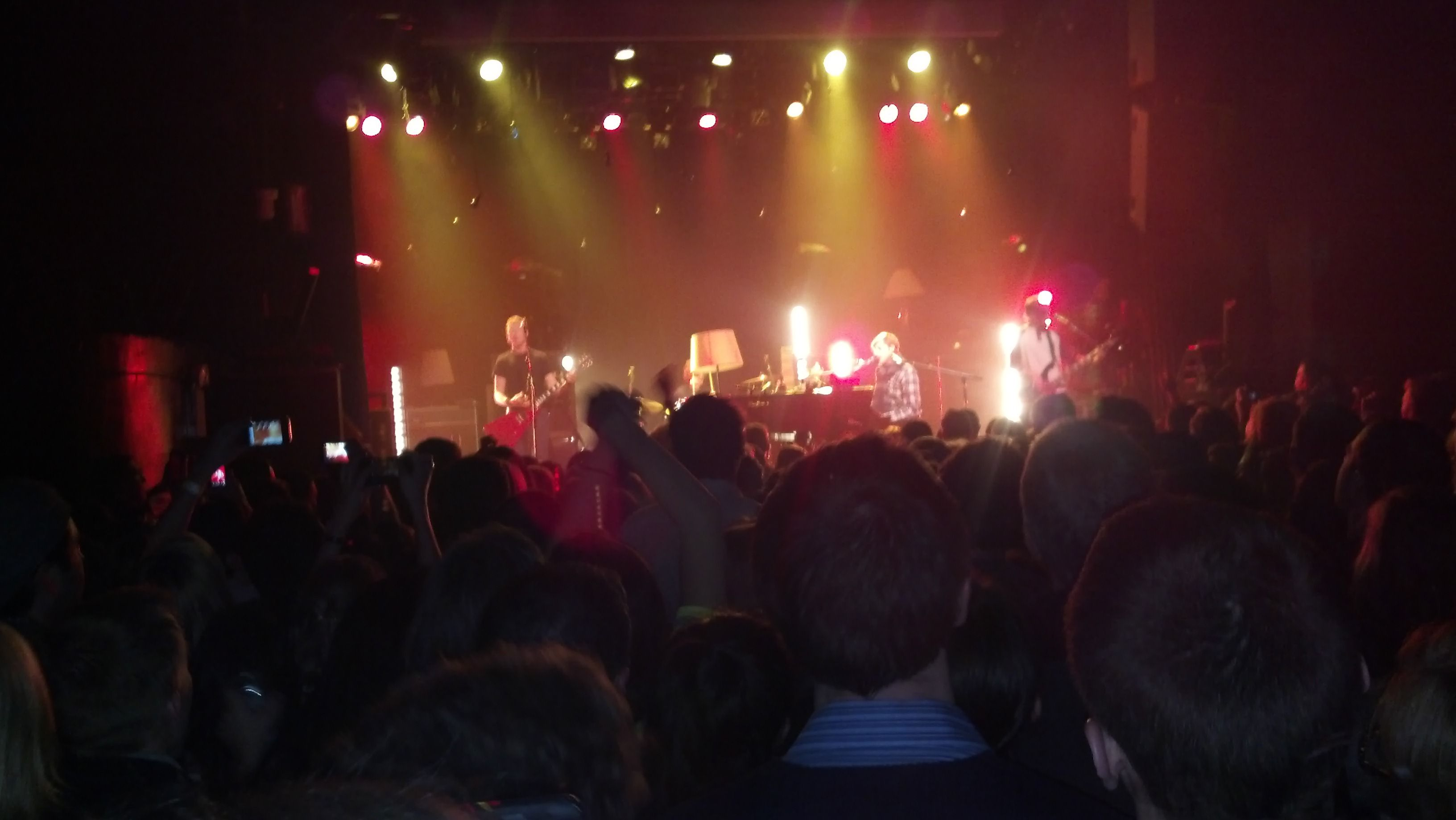 Day 4: what you did tonight.... Jacks mannequin at Irving plaza!