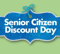 Senior Citizen Discount Day Senior Citizen Discounts Senior