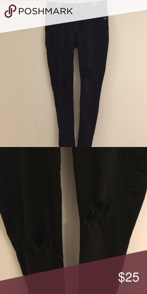 Pacsun skinny ripped jeans Great condition PacSun Jeans Skinny
