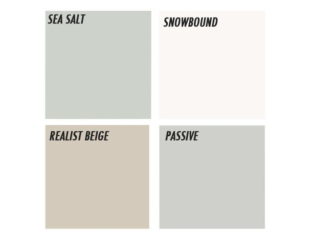Sherwin Williams Paint Sea Salt Snowbound Realist Beige House Ideas Pinterest