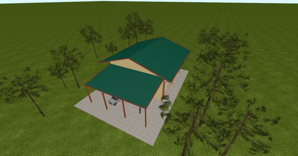 Cool 3D #marketing http://ift.tt/2fG2jnH #barn #workshop #greenhouse #garage #roofing #DIY