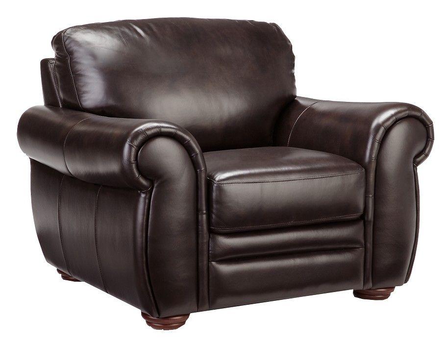 Slumberland Gallery Collection Chair Dark Brown Chair Chair