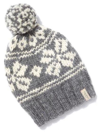 GANT Rugger Fair Isle Hat | Knit and crochet hats | Pinterest ...