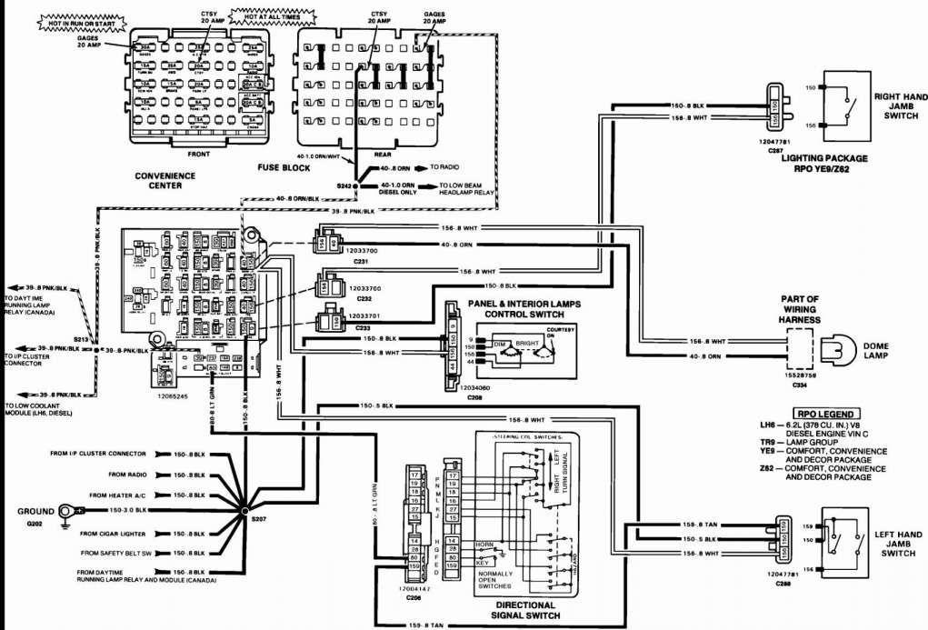 1984 chevy wiring diagrams automotive  wiring diagram
