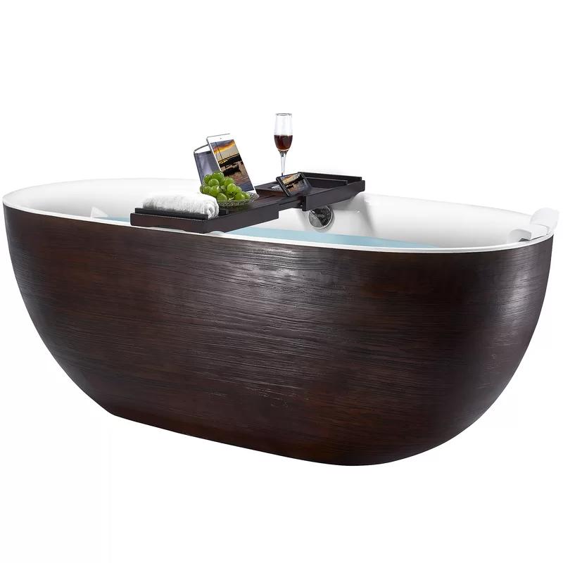 Freestanding Soaking Fiberglass Bathtub   Free standing ...