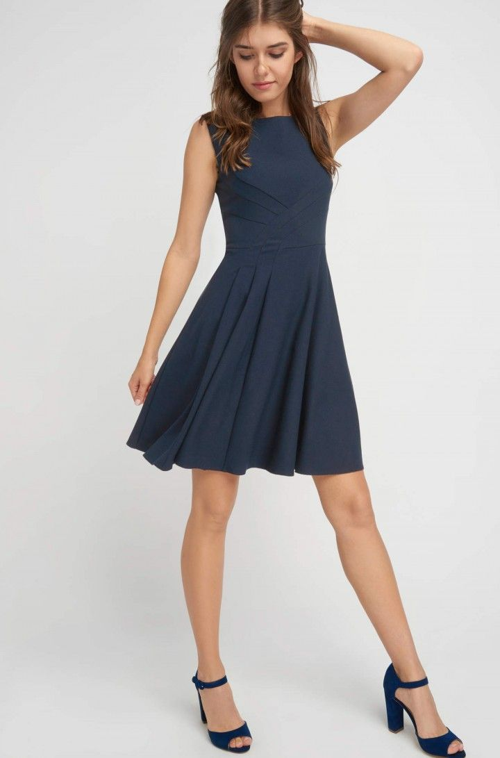 Glockenkleid Orsay Business Kleider Business Kleidung Damen Polyvore Outfits