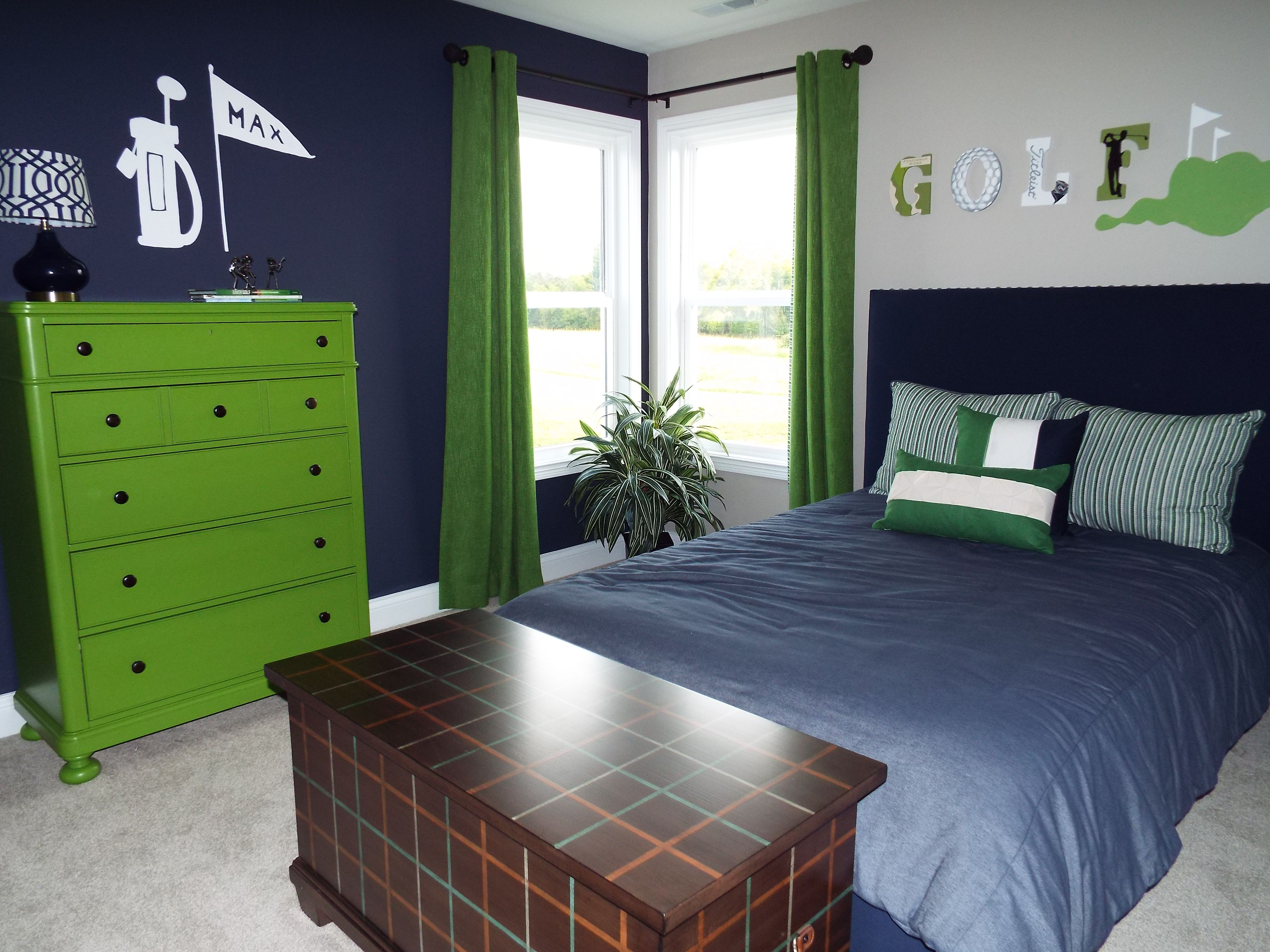 Pin On Kid Rooms: Boy's Golf Theme Room …