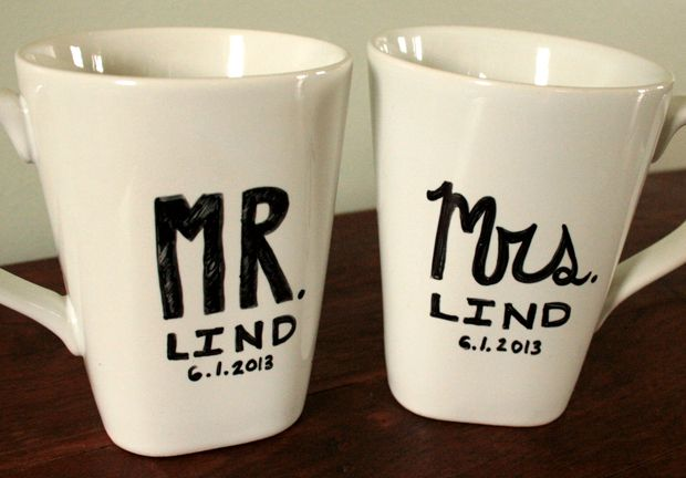 diy mr mrs mug - Cup Design Ideas