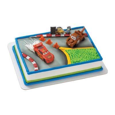 Cars World Grand Prix Publix cake Landons First Birthday