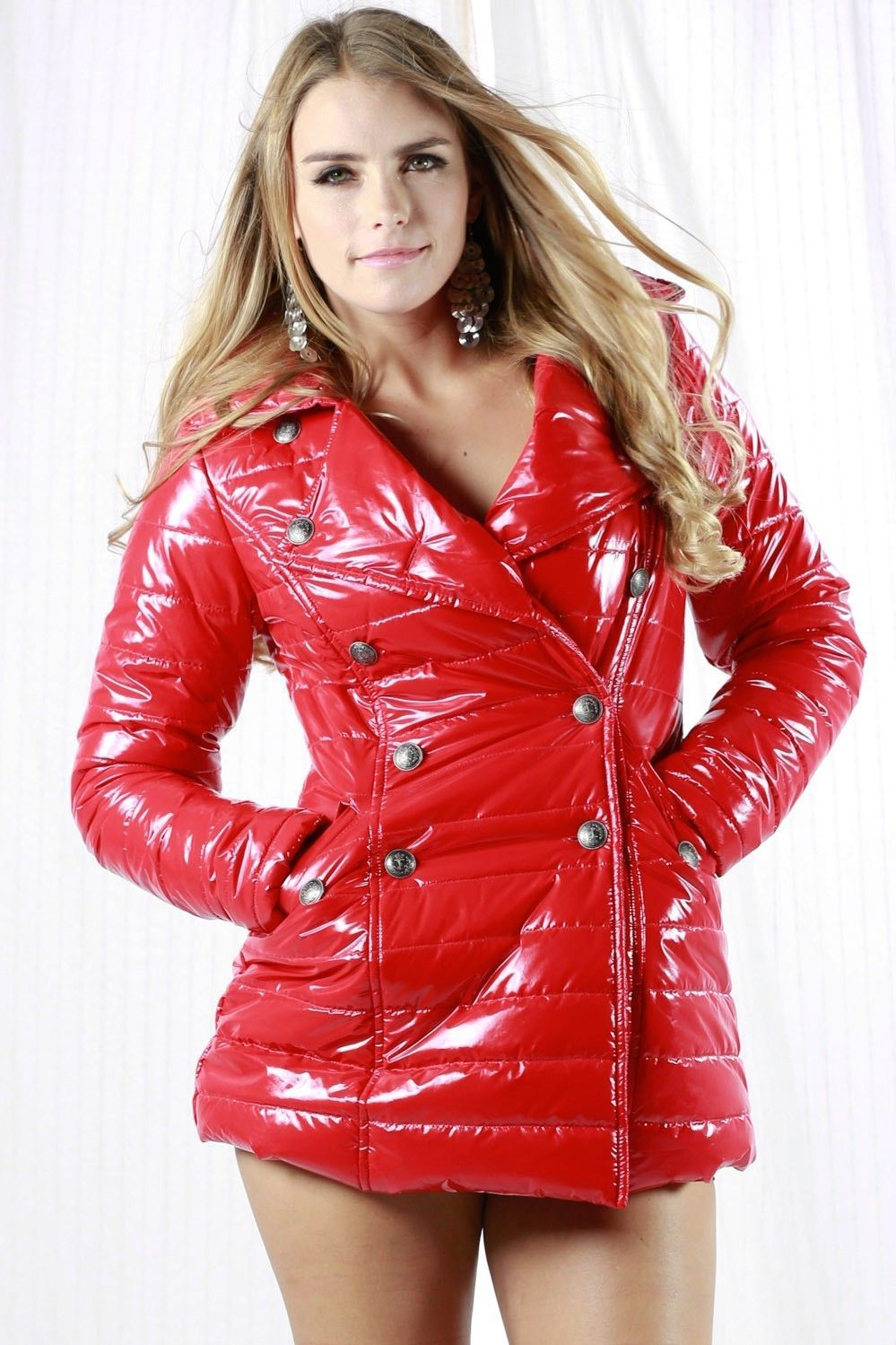 Athena massey red alert pictures to pin on pinterest - Shiny Red Down