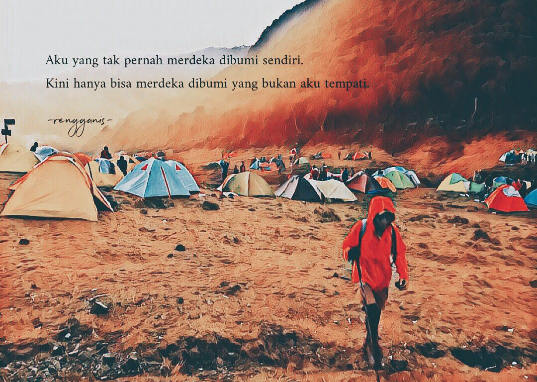 Kata Kata Rindu Alam Gunung