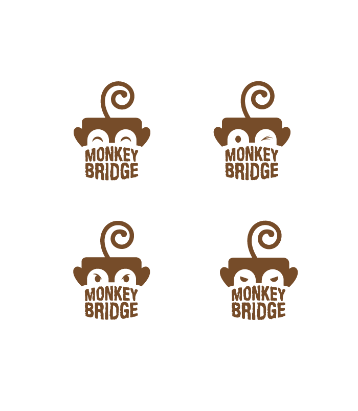 Logo For Monkey Bridge Studios On Behance Logo Design Pinterest