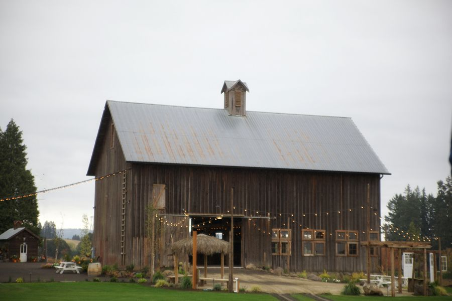 Roloff Farm Wedding Other Oregon Barn Venues Tara Francis Photography