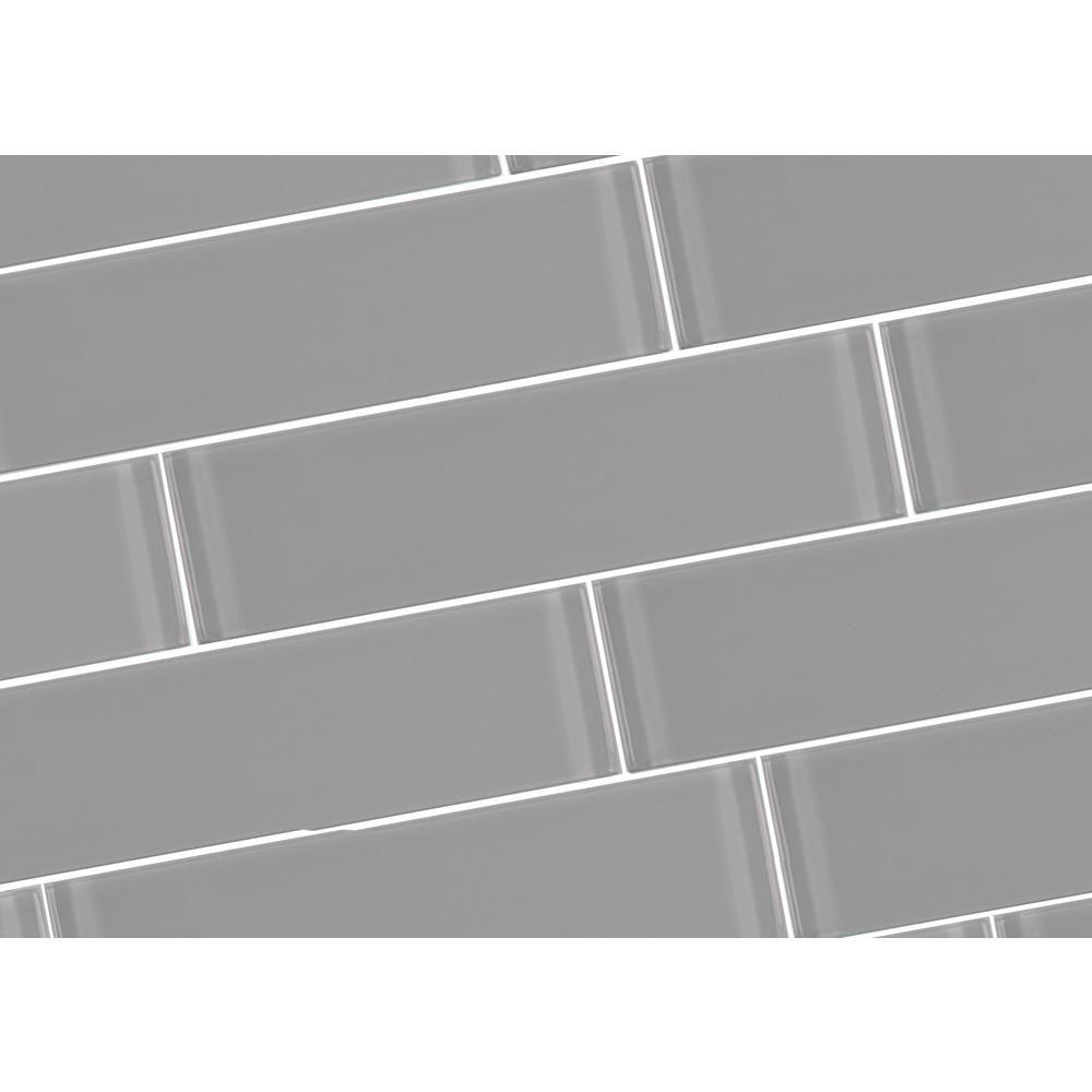 abolos metro pebble gray subway 3 in x