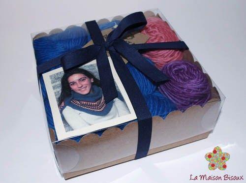 Kit Chal Billie Jean - Diseño de Alba Cabrera / Kit Billie Jean Shawl - Designed by Alba Cabrera