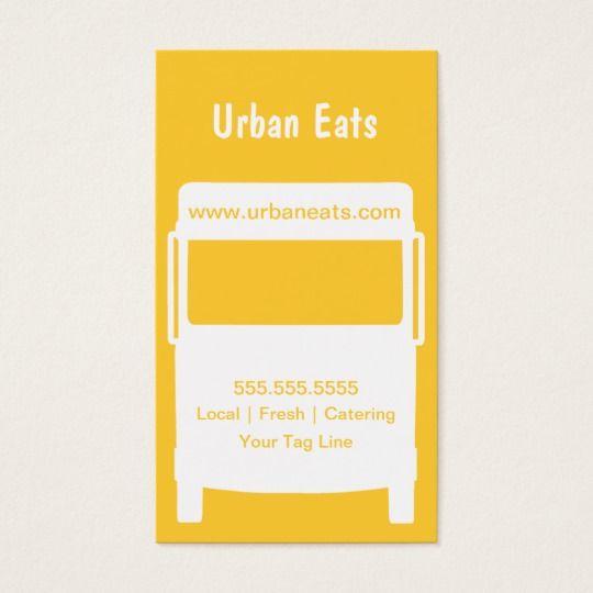 Food Truck Business Card Template Zazzle Ca Food Truck Business Business Card Template Food Truck