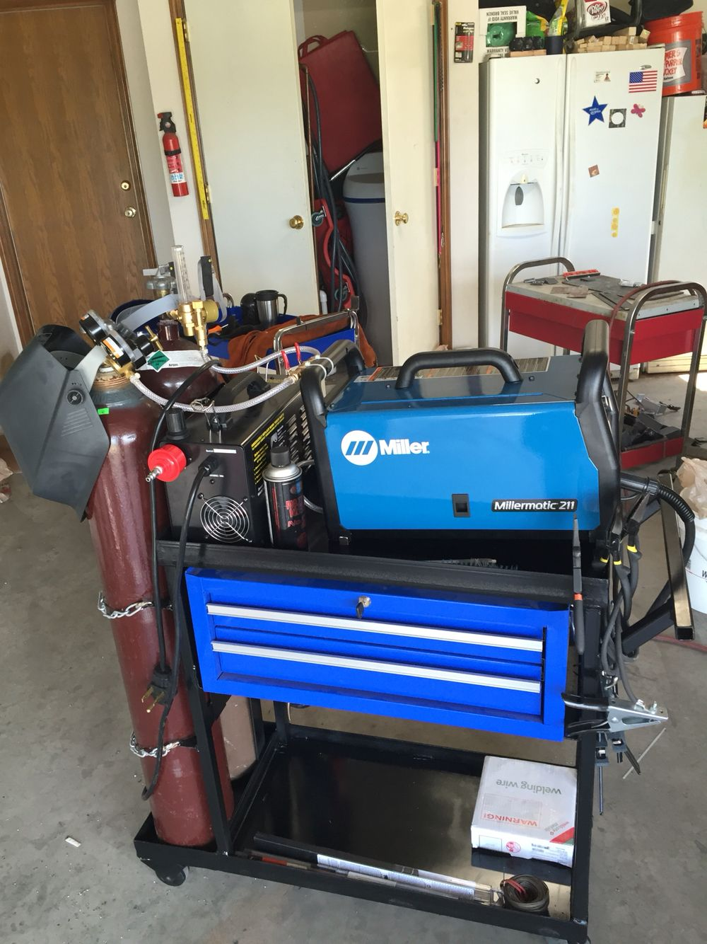 Welder cart I built Welding cart, Welding projects