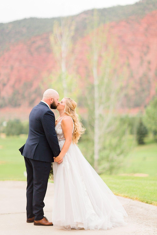 intimate destination wedding in glenwood springs, colorado | wedding