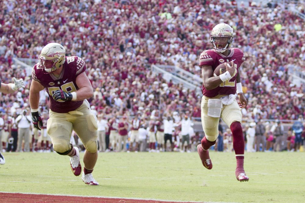 22 Florida State vs NC State College Football Week 10