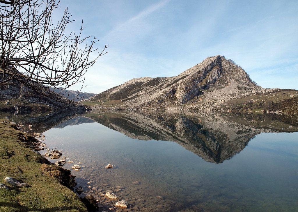 Lake Enol. Picos de Europa. Spain