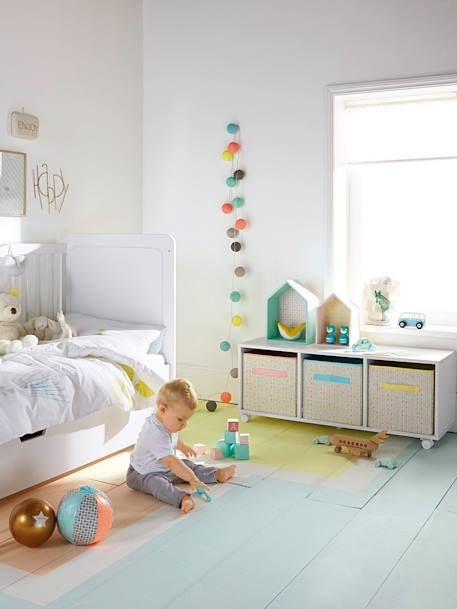 Lichtergirlande für Kinderzimmer, Lichterkette blau