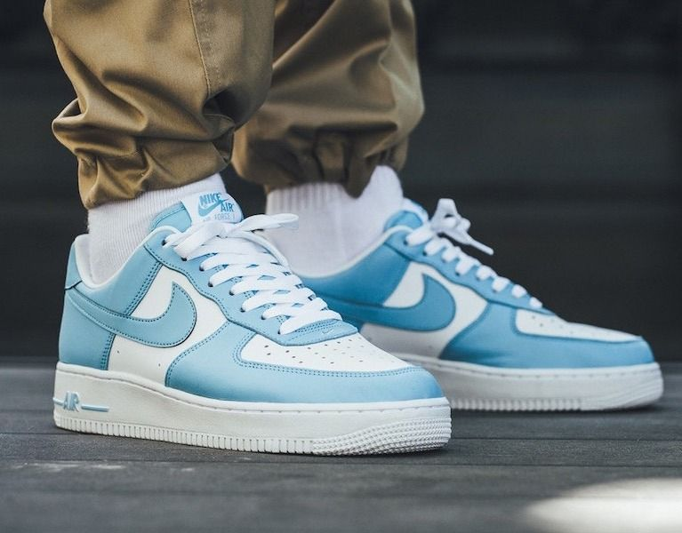 Mens Blue Air Force 1 Shoes.