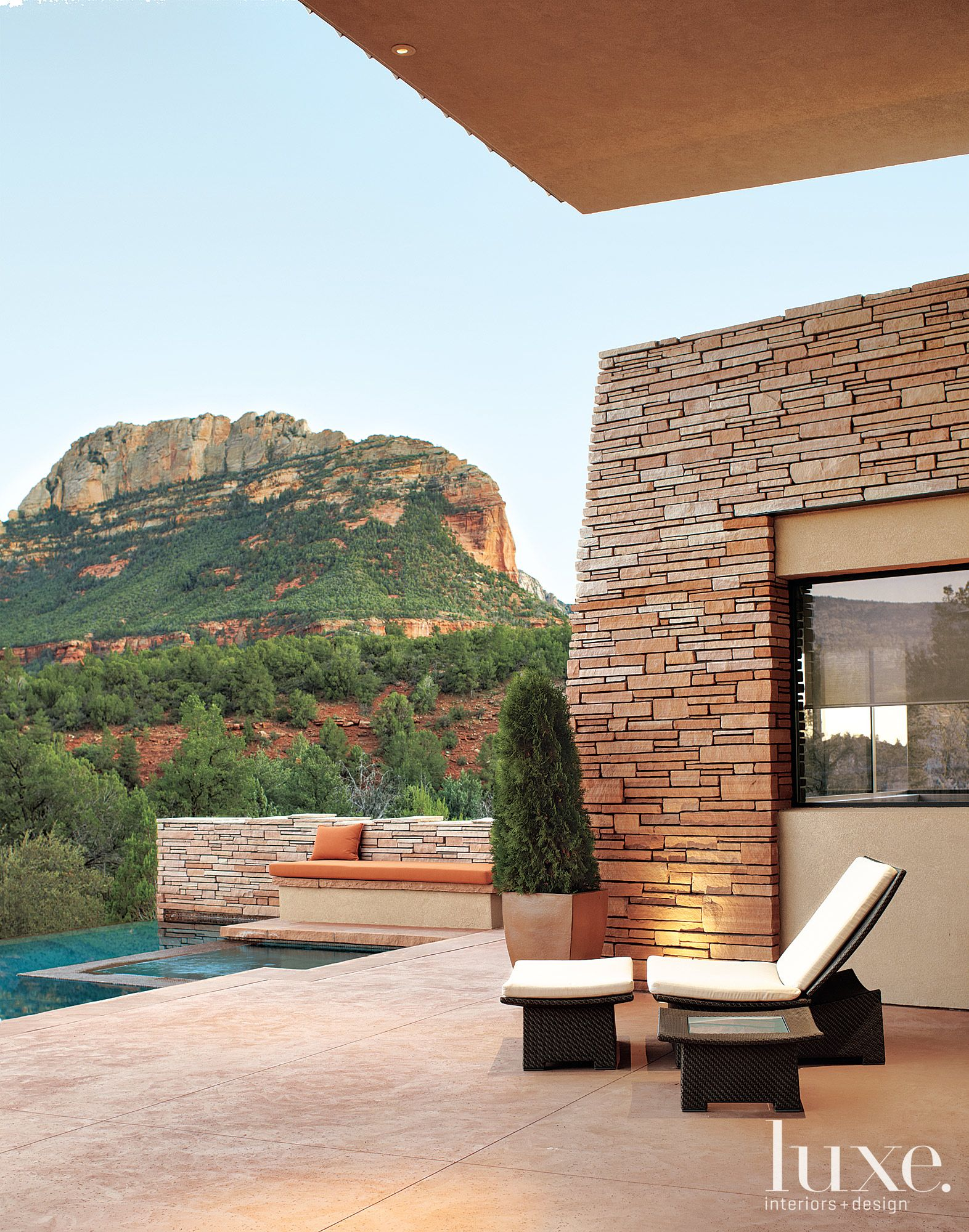 Designer Susan Foley Larson and architect Erik Peterson work together to perfect this harmonious Sedona home in our Arizona Winter 2012 issue.