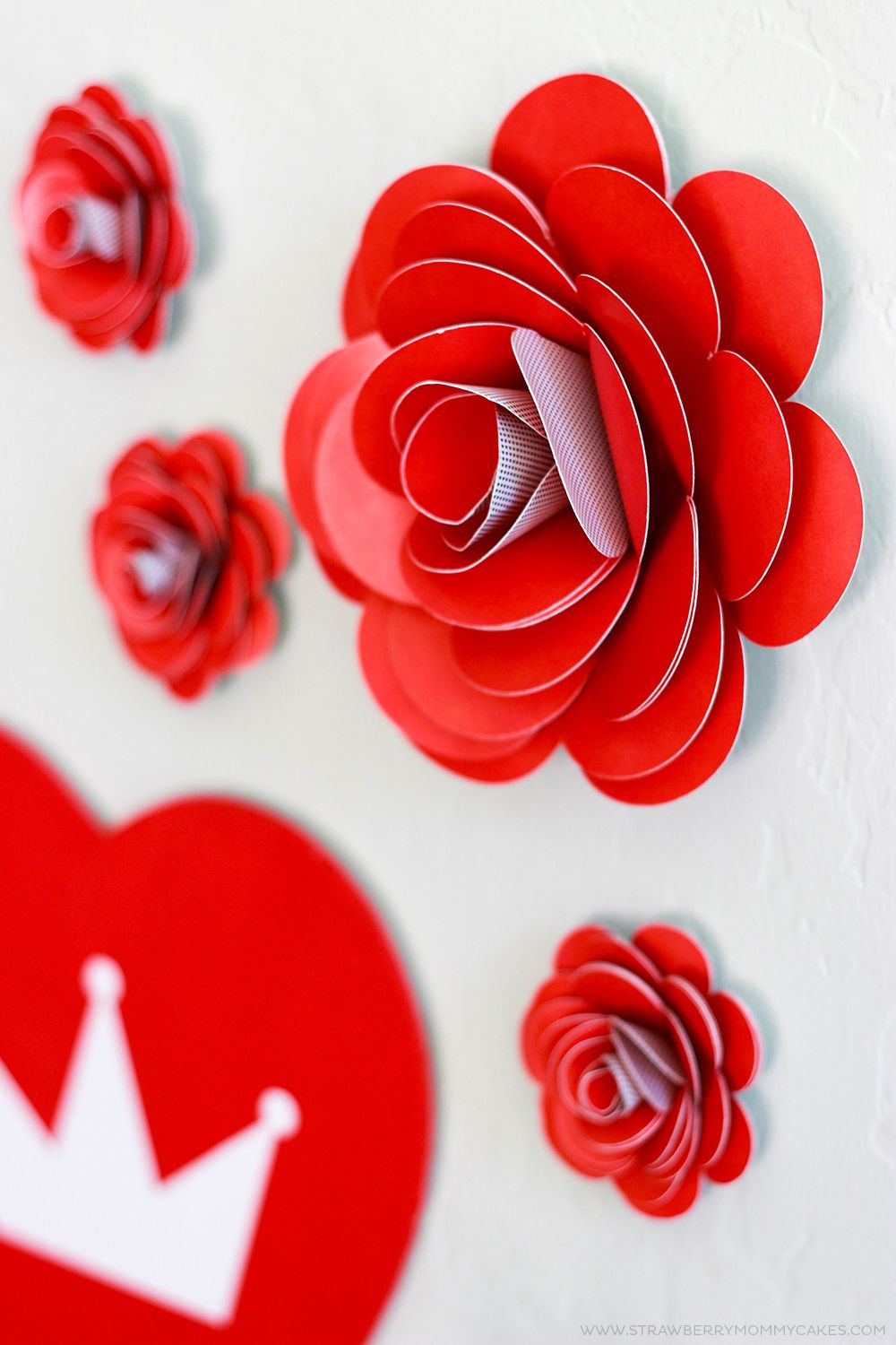 How to Make Easy Paper Roses