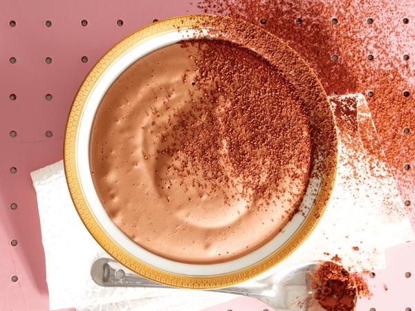 Laevet-sjokolademousse