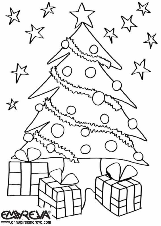Pintar Per Pintar Sapin De Noel Impressio De Dibuix Christmas Tree Coloring Page Christmas Coloring Sheets Christmas Drawings For Kids