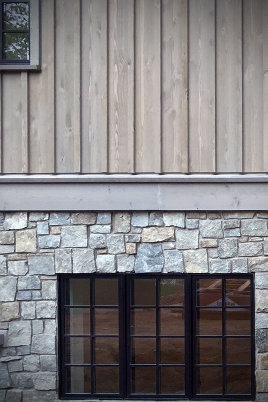 Craftsman Style Home Barnwood Blue Stone Veneer Castle Rock Exterior Wood Siding Exterior Stone Siding Exterior Wood Cladding Exterior