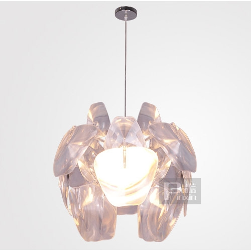 "150.00$  Watch now - http://ali1pu.worldwells.pw/go.php?t=874631374 - ""25"""" Cone New Modern PVC Leaves DIY Pendant Light Free Shipping Living Room, Bedroom Dining Room Study Room Pendant Light"""