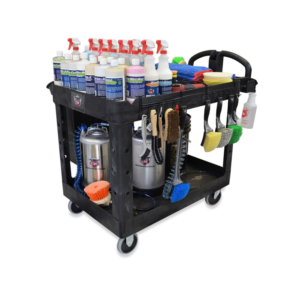 Car Wash & Auto Detailing Cart (With images) Car