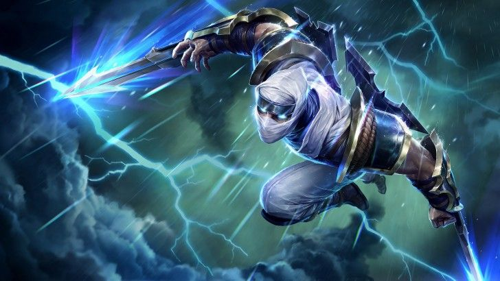 Zed Splash Art Uhd Shockblade 4k 3840x2160 Zed League Of Legends Lol League Of Legends League Of Legends