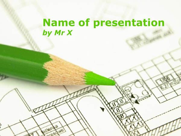 A green pen on a plan free powerpoint template children a green pen on a plan free powerpoint template toneelgroepblik Image collections