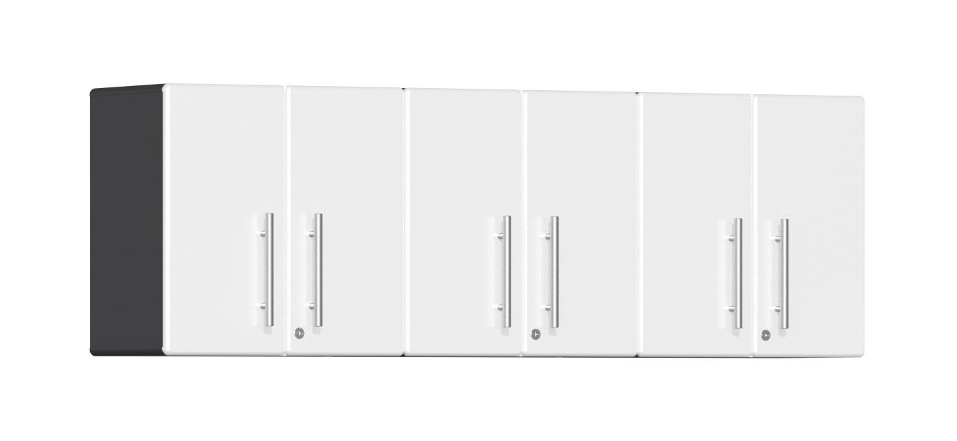Ulti-MATE Garage 2.0 Series 3-Piece Wall Cabinet Kit in White Metallic UG23030W