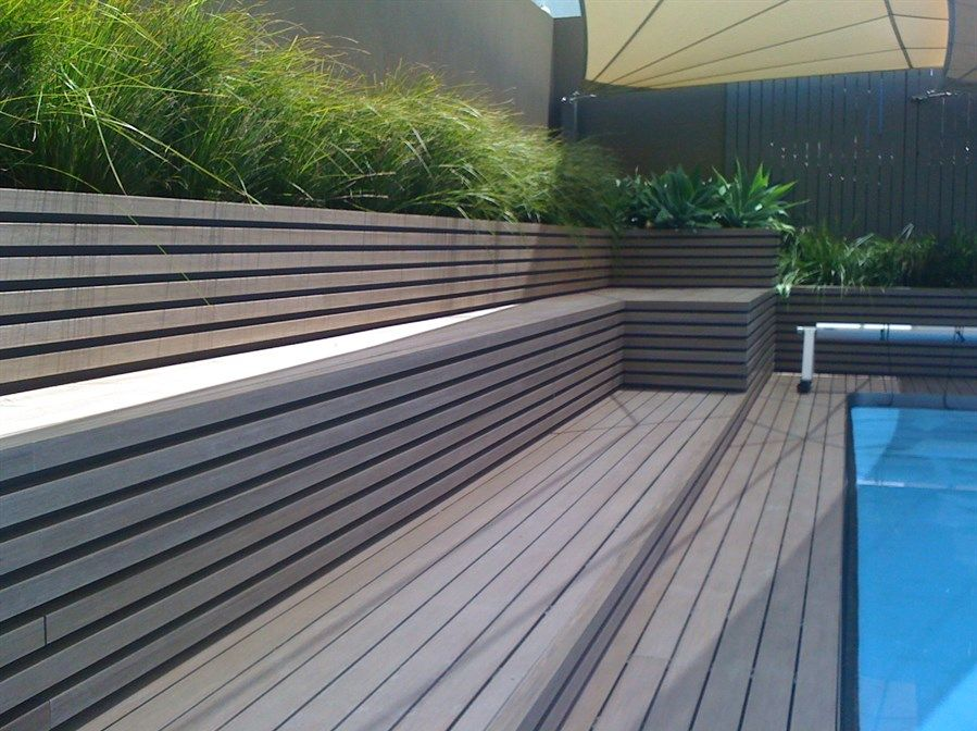 The use of composite and plastic decking products as an for Alternative to decking