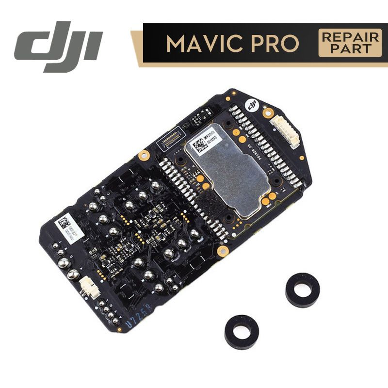 dji mavic pro flight controller esc board module for mavic drone  accessories repair parts original review