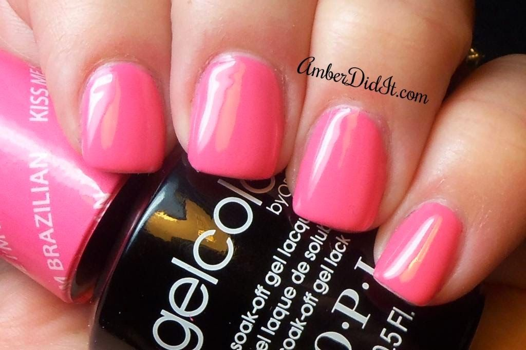 Opi Gelcolor Brazil Collection Kiss Me I39m Brazilian N A