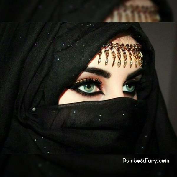 Pin By Hajra Jabeen On Shaiks Niqab Eyes Arabic Makeup Arab Beauty