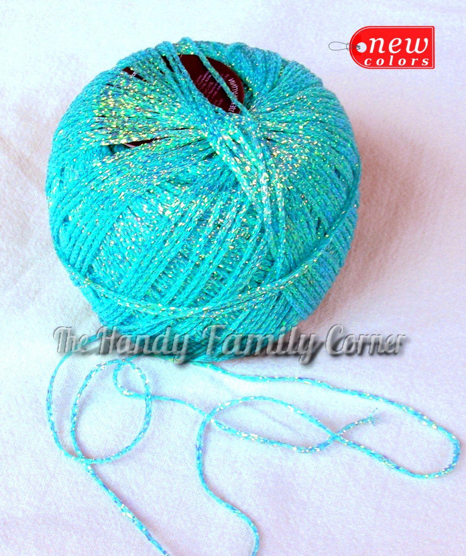 Reserved For Alice Blice Brocade Yarn Brocat Glitter Yarn