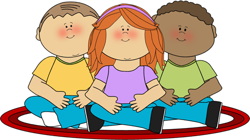 kids sitting on school rug clip art kids sitting on school rug rh pinterest com teacher and students in classroom clipart students sitting in classroom clipart