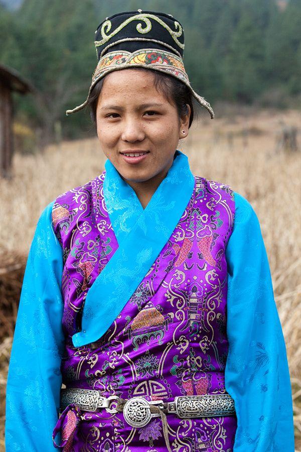 Arunachal Pradesh Mechuka, Memba tribe. Arunachal