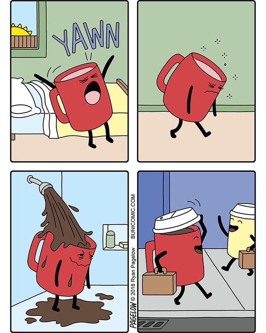 Slikovni rezultat za morning coffee comic