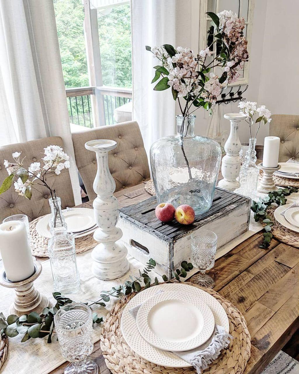36 Amazing Summer Dining Room Decor Ideas Dining Room T